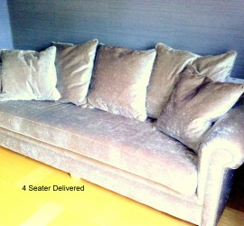 photo 4 seater delivered
